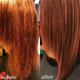 ビビリ毛になってしまう原因と修繕方法