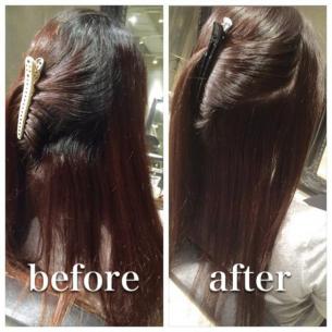 過去に縮毛矯正をかけた事のある方へ。弱酸性の薬剤で繰り返す事でなる綺麗な髪をご紹介!