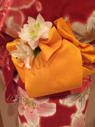 浴衣帯アレンジ