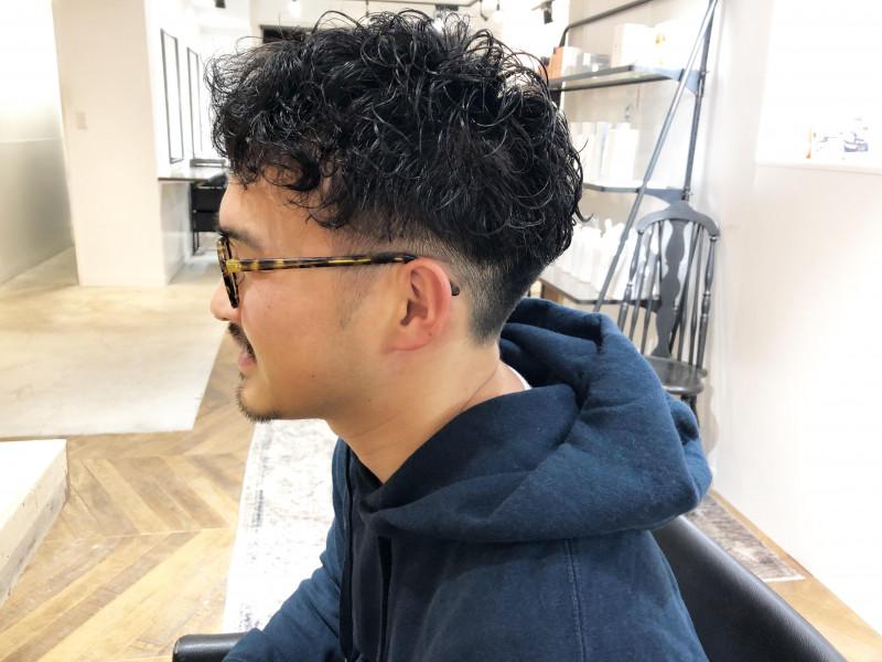 30代 髪型 メンズ ツーブロック ベリーショート