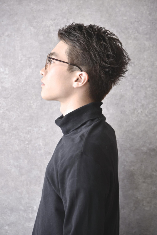 メンズ 髪型 ビジネス 40 代 パーマ