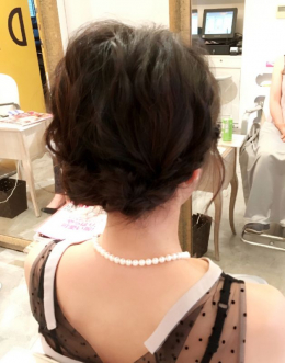 横浜元町LUMDERICAのYUKAがおくる結婚式お呼ばれヘアアレンジ!リアルサロンワーク✨