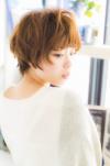 若く見える髪型と髪色 小顔ふわふわマッシュ☆