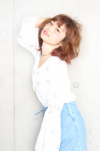 若く見える髪型 30代ママガールにおすすめ☆ふわふわミディ