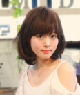 若く見える髪型 女子アナ風ボブ☆