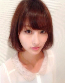 若く見える髪型 王道ツヤふわストレートボブ☆