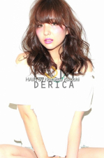 目上ギリ前髪で作るセミロング【横浜美容室ラムデリカ/キクチ】