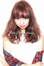 人気ピンクブラウンで艶髪に【横浜美容室ラムデリカ/キクチ】
