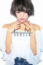 ショート暗髪のグレージュカラー【横浜美容室ラムデリカ/キクチ