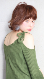 【横浜元町美容室LUMDERICA】ランダムカールボブ!