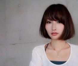 若く見える髪型 シンプル×アンニュイボブ☆