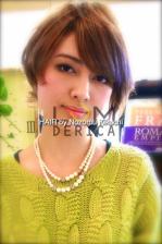 横浜美容室ラムデリカ ランキング上位アッシュショートヘア