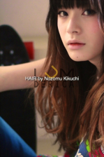 横浜美容室ラムデリカ 人気インナーカラーで外国人風