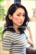 横浜美容室ラムデリカ 大人な女性にオススメ黒髪セミディ