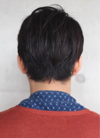若く見える髪型 30代からおすすめ!大人七三分けスタイル