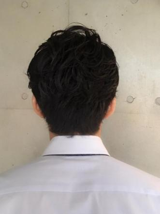 2ブロックパーマ☆大人の魅力倍増ヘア