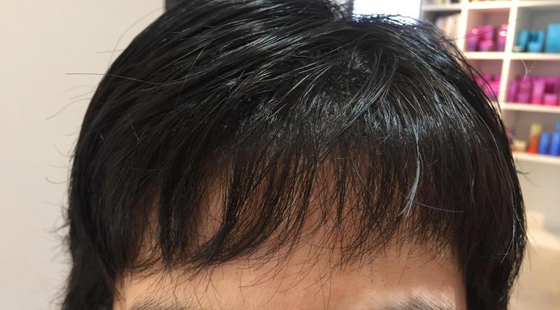 前髪 ぺったんこ に なる