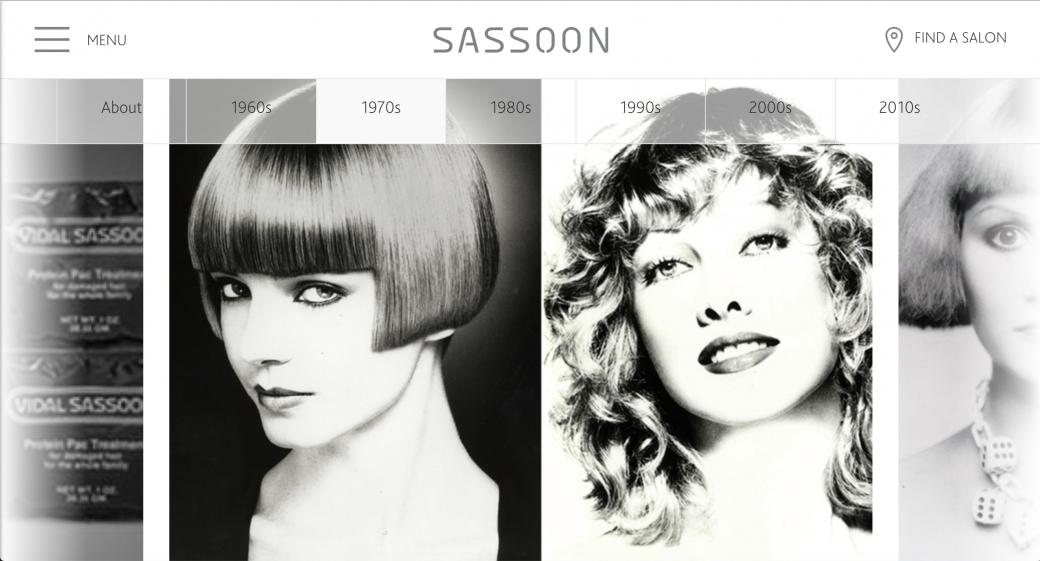 出展:SASSOON  SALON ホームページ