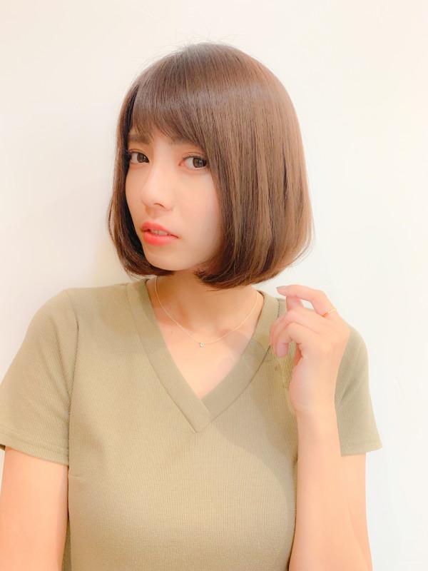 【下膨れでお悩みの方へ】髪型・前髪でカバーする3つの方法