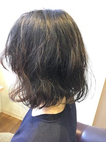 ヘアスタイル くせ毛