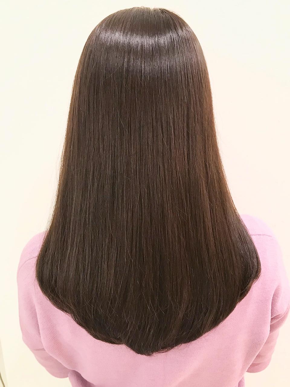 アラフォー艶髪
