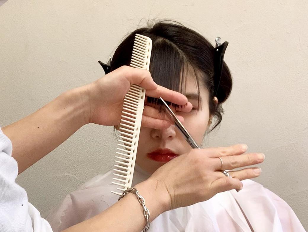 失敗しない前髪セルフカットの方法
