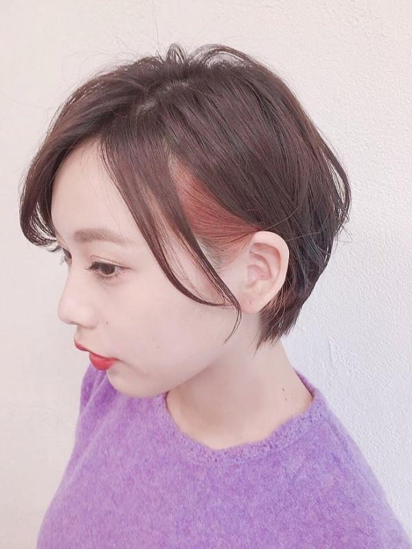 【美容師直伝】ショートヘアのためのセルフインナーカラー解説
