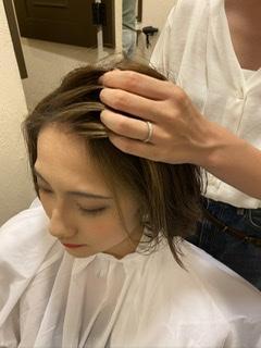 ショートヘア スタイリング ワックス